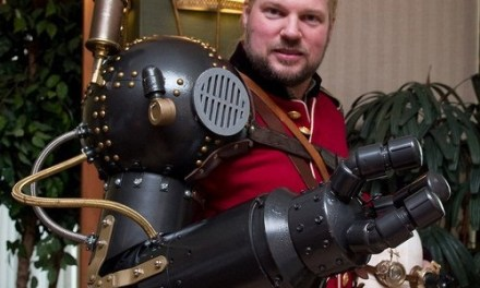 On The Event Horizon: Mad Steampunk Inventor Thomas Willeford