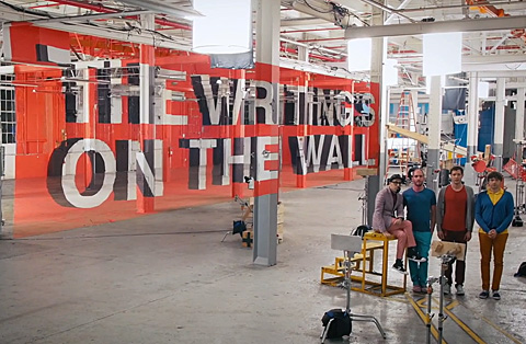 Video of the Day: OK Go's 'The Writing's On the Wall'