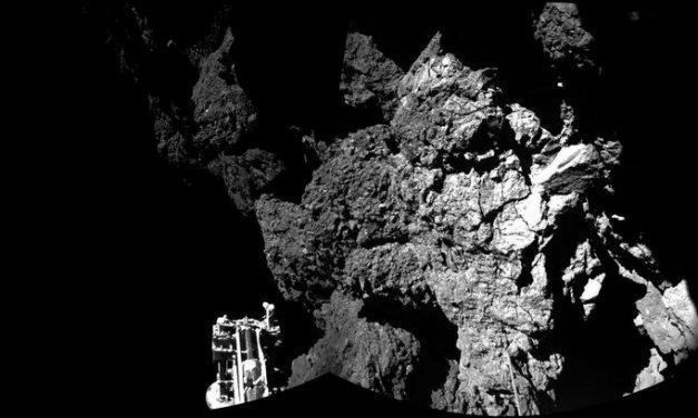 Philae Plays Hopscotch on Comet. Wins.