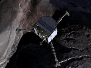 Artist's conception of the Philae Lander