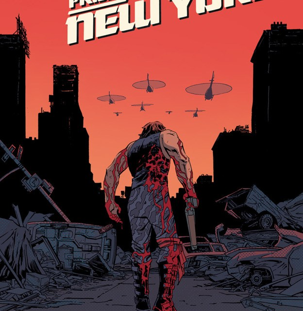 Four-Color Bullet: 'Escape from New York' #1