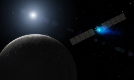 NASA Dawn Probe Enters Orbit Around Ceres