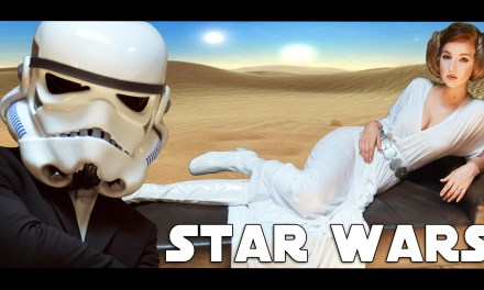 Video of the Day: Heidi Mae as Princess Leia is 'Good For You'
