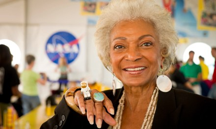 Nichelle Nichols Flies to Near Space Today