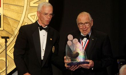 Apollo 13 Astronaut James Lovell Honored