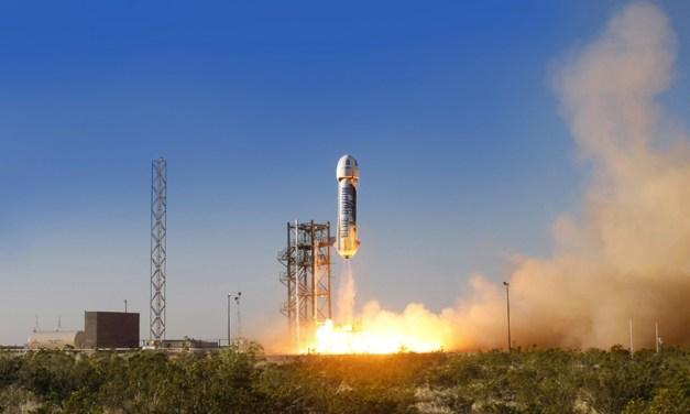 Jeff Bezos' Blue Origin Sticks Its Landing