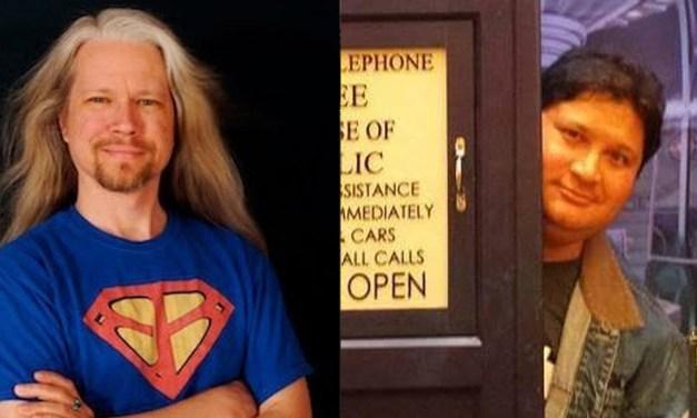On 'The Event Horizon': Singer/Songwriter Eben Brooks, Christian Basel of 'MarkWHO42'
