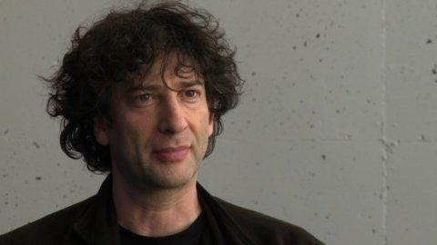 Author and screenwriter Neil Gaimon