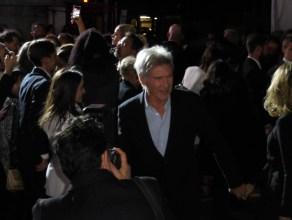 Harrison Ford runs the gauntlet.