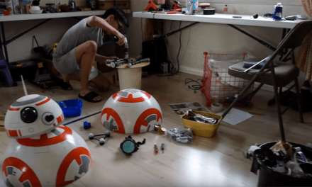 Build Your Own Life-Size Working BB-8