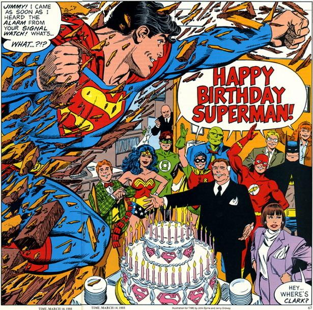Happy Birthday Superman Krypton Radio Your Sci Fi Radio Station