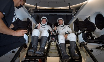 Bob and Doug Face the Splashdown – SpaceX Puts U.S. Back in the Space Travel Business