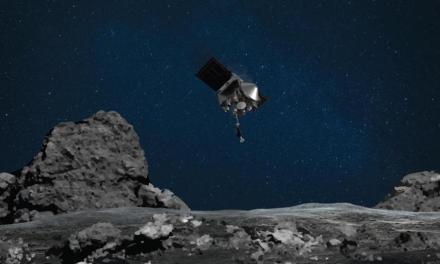 OSIRIS-REx: NASA TAGs An Asteroid