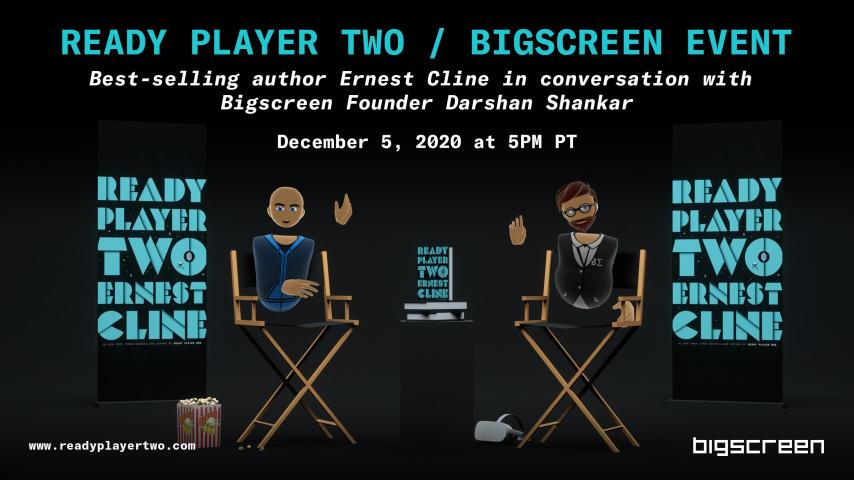1tvjq 1dczo5dm https kryptonradio com 2020 11 21 vr book event announced for ernest clines ready player two