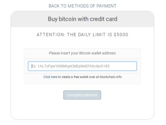 zadajte adresu, kam poslať bitcoin