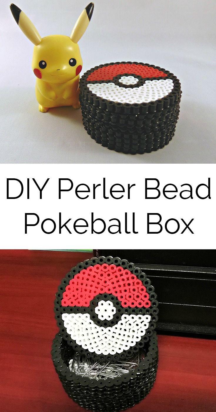 How To Make A 3d Perler Bead Pokemon Box Krysanthe