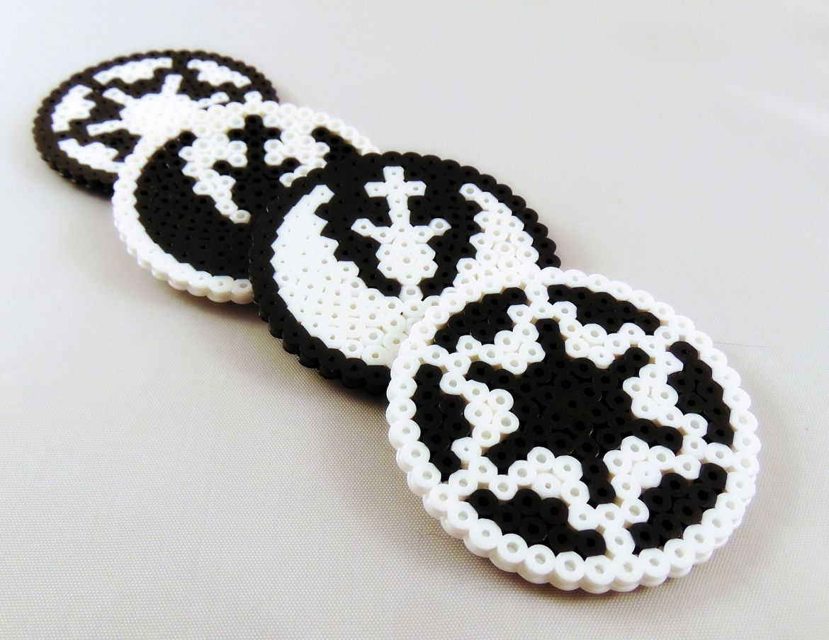 How To Make Star Wars Perler Bead Coasters
