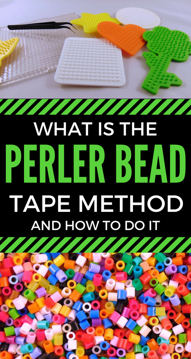 Stop Warped Pegboards: Perler Bead Tape Method