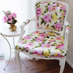 Upholstering A Chair Graco High Duodiner Diy Floral Upholstery 2 – Melodrama