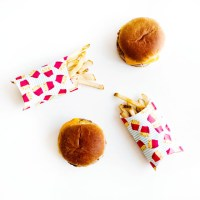 DIY: Paper French Fry Holders   12 Months of Martha ...
