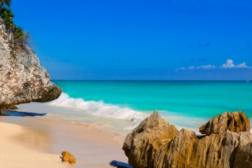 Tulum Beach at Cancun where travelers make the most of their days