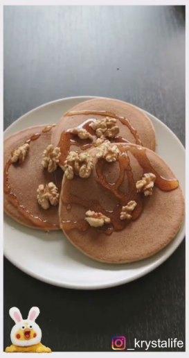Pancakes sans sucre sans matière grasse et sans lactose, option sans gluten possible