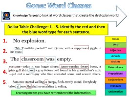 calibrate word class