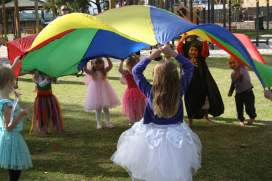 Parachute games make a party extra special