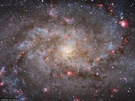 Galaxies Winner - M33 Core by Michael van Doorn (Netherlands) - 28 October 2014 - Almere, Flevoland, Netherlands