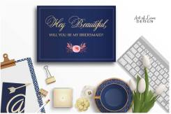 Printable Bridesmaid Card