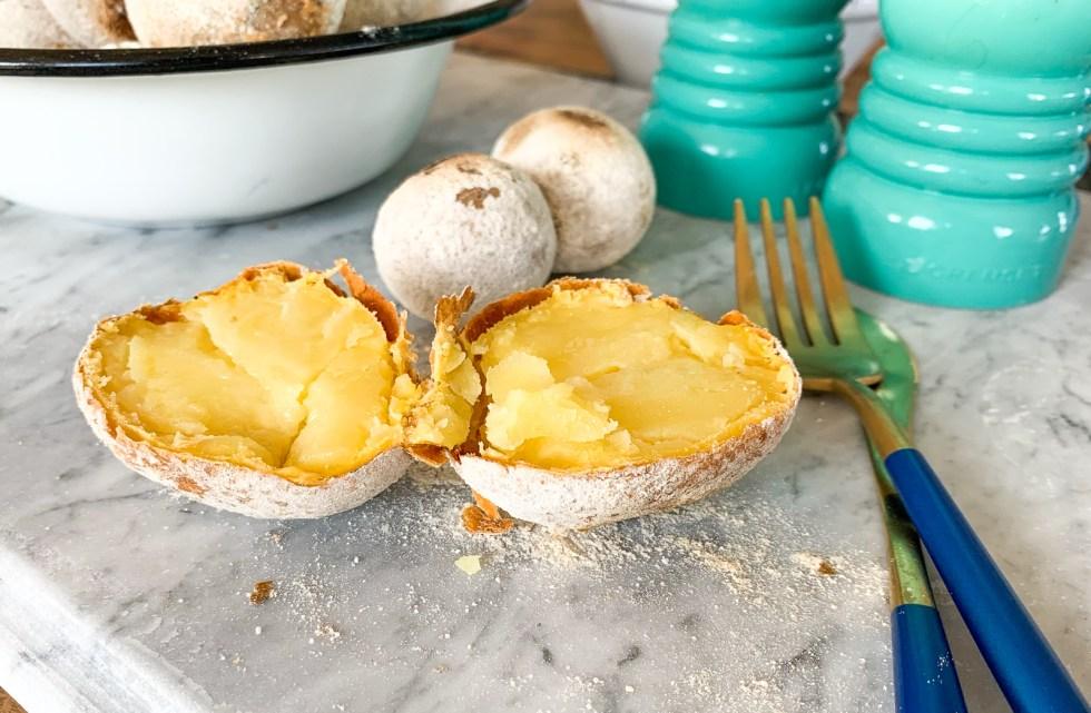 pieczone ziemniaki jak z ogniska przepis