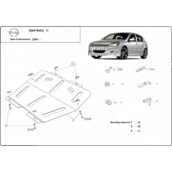 Opel Astra H kryt pod motor 1.3D, 1.4, 1.6, 1.8, 1.9D, 2.0
