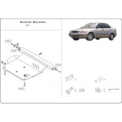 Suzuki Baleno (cover under the engine and gearbox) 1.3, 1