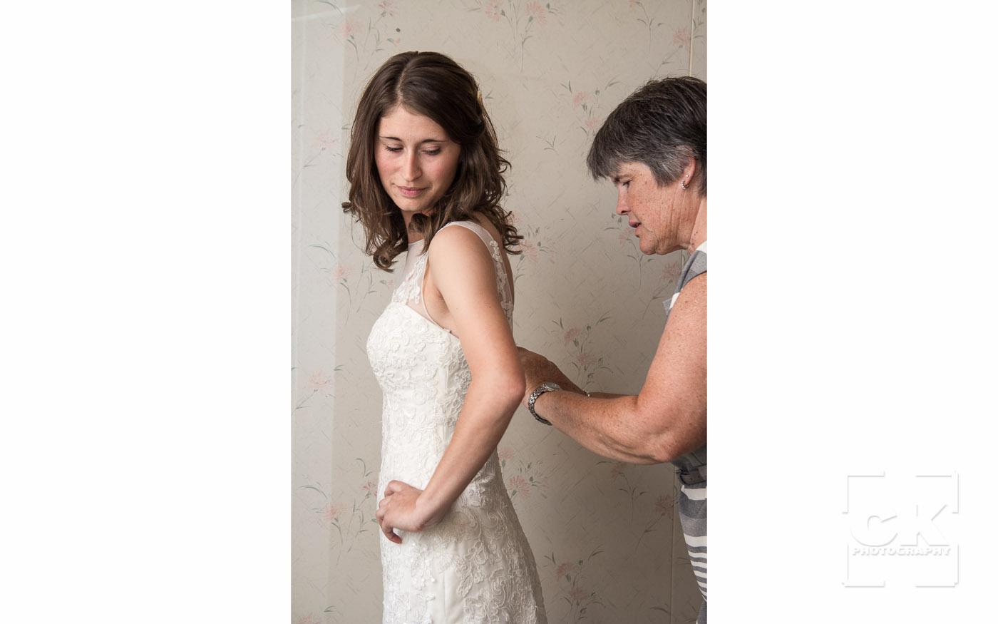 Chris Kryzanek Photography - Bride and mom