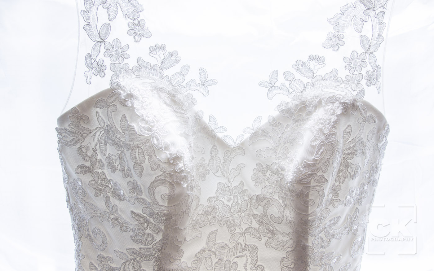 Chris Kryzanek Photography - Wedding Dress detail