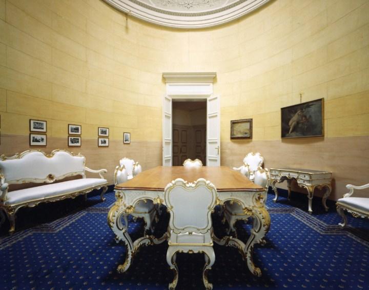 Sala del Trattato w Imperiale Palast Hotel w Santa Margherita Ligure ©Imperiale Palast Hotel