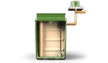 Sewage Treatment Plant Chlorination Chamber