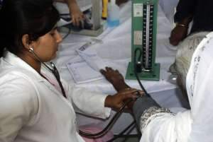 Medical Camp: Blutdruckkontrolle