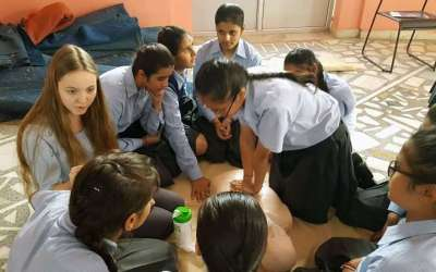 Workshop Schüler retten Leben (Tag 5)