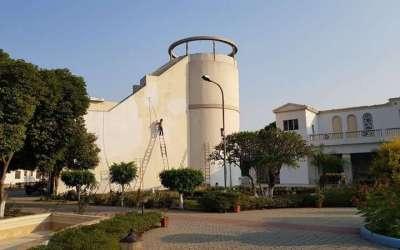 Water tank renovated