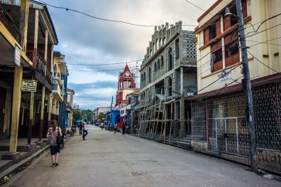 Jeremie - a colourful city south in haiti