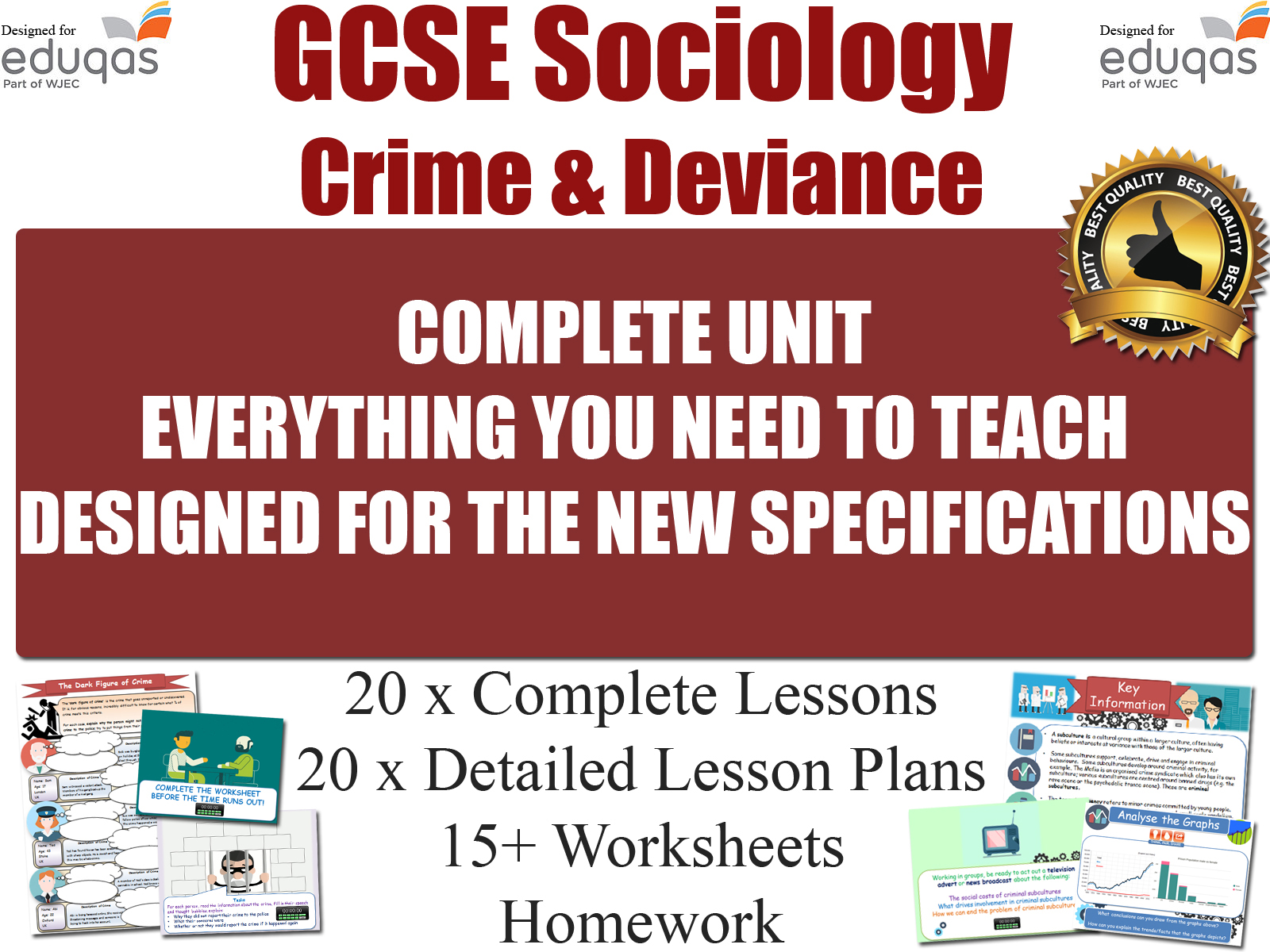 Crime Amp Deviance Gcse Sociology Resources