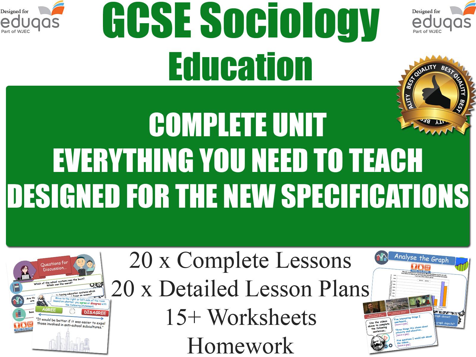 Education Gcse Sociology Resources