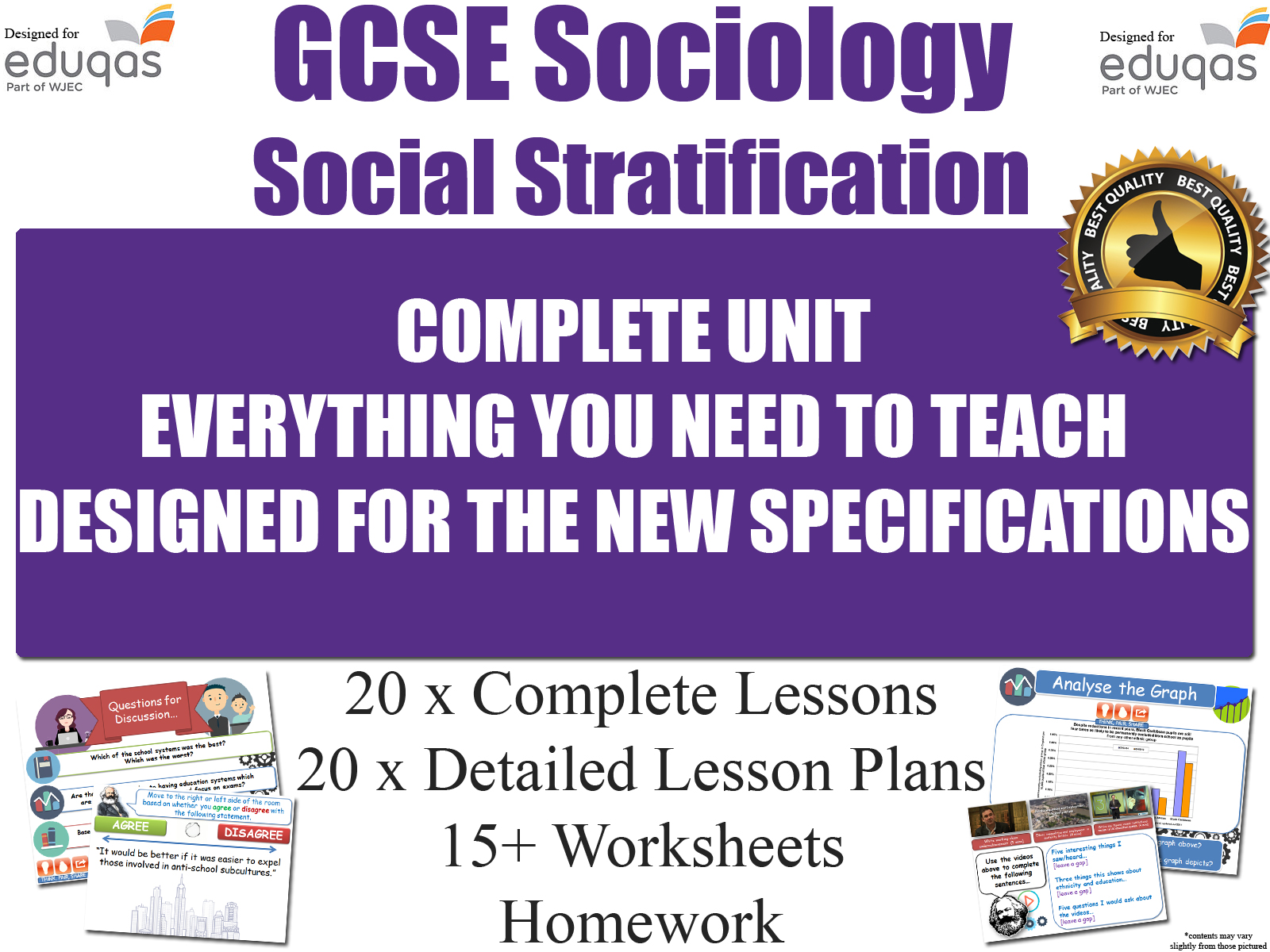 Social Stratification Gcse Sociology Resources
