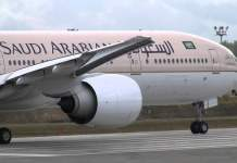 Saudia Flight