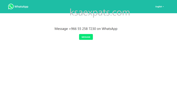 SEND WHATSAPP MESSAGES WITHOUT SAVING THE NUMBER IN YOUR PHONE