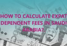 Calculate Expat Dependent Fees - Expat Family Levy in Saudi Arabia - Dependent Levy Calculator Online