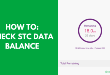 HOW TO CHECK STC DATA BALANCE