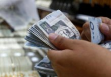 Expat remittances increased 15% to SR 14 billion in March