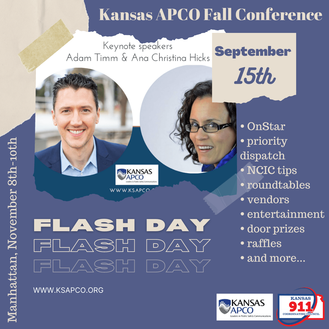 Flash Day Change and Conference Information
